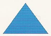 Balisage CV triangle