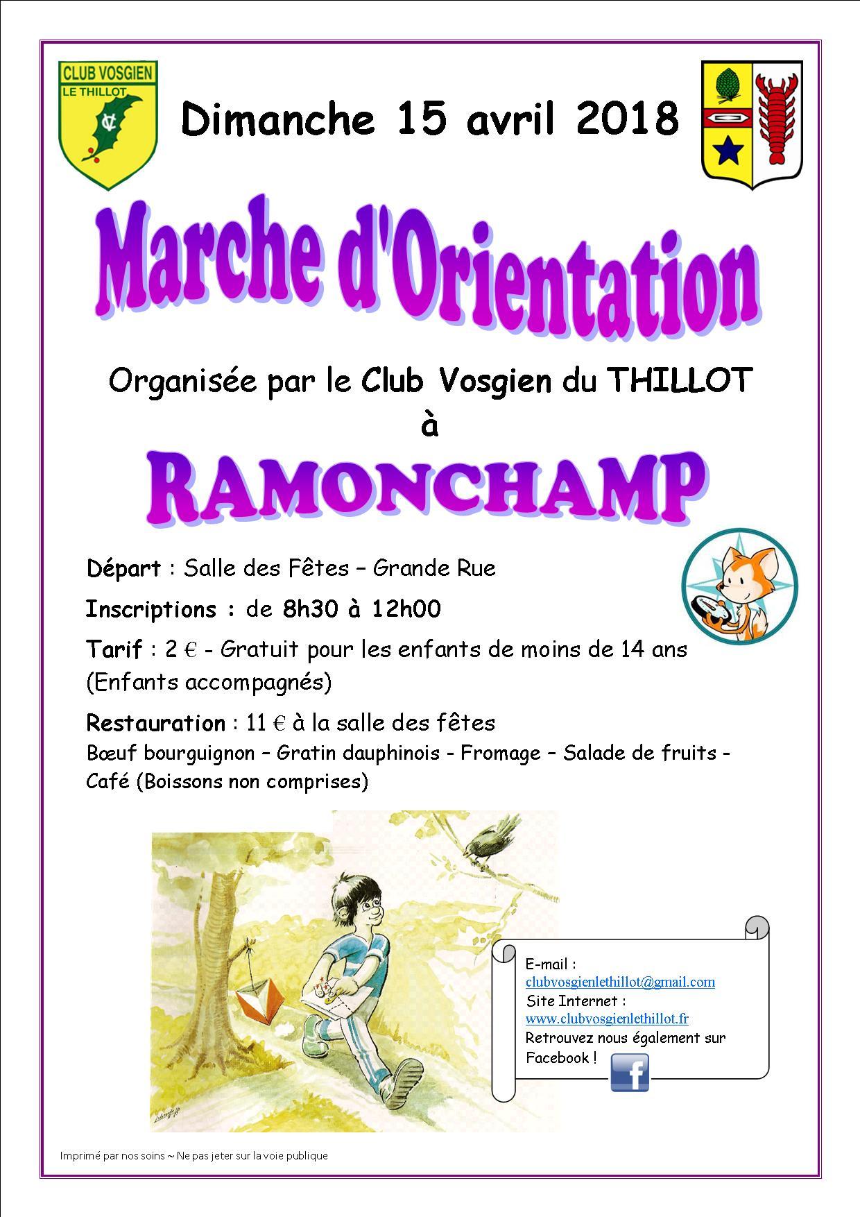 Affiche MO CV Le Thillot 2018