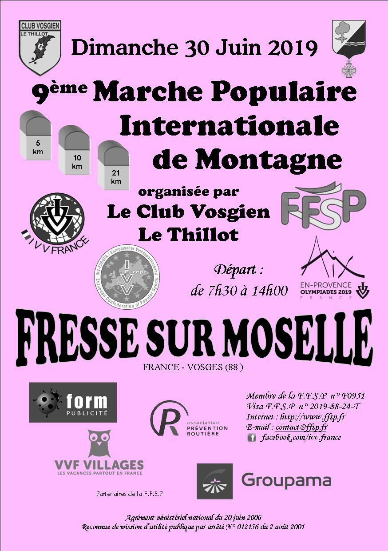 Calendrier Marche Populaire Vosges 2019.La Marche Populaire Club Vosgien Le Thillot