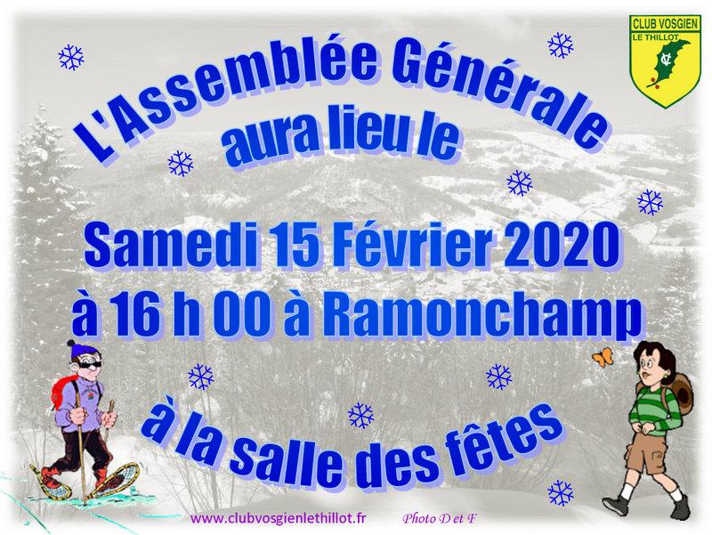 AG 2020 CV Le Thillot